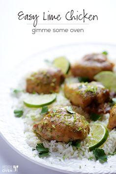 Lime Chicken.