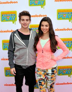 Kira Kosarin Photos - Actors (L-R) Jack Griffo and Kira Kosarin attend Nickelodeon's Annual Worldwide Day of Play at Prospect Park on September 2014 in New York City. - Nickelodeon's Annual Worldwide Day of Play - Orange Carpet Phoebe Thunderman, Max Thunderman, Henry Danger Jace Norman, Kids Choice Award, Choice Awards, The Thundermans, Jack Davis, Orange Carpet, Kira Kosarin
