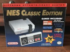 #videogames #Gamers #nintendo classic mini Nintendo Entertainment System NES Classic Edition Mini Complete W/ Box 30 Games 225.00      Item specifics   Condition: Used      :                An item that has been used previously. The item may...