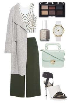 """""""Class"""" by hope-gonsalves on Polyvore featuring mode, Cameo, Miss Selfridge, Zara, Dorothy Perkins, NLY Accessories, NARS Cosmetics, Essie, Fall en Girls"""
