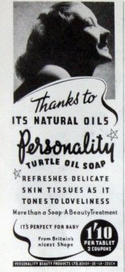 Personality Beauty Products  gracesguide.co.uk