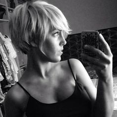 @lavieduneblondie and her pixie are perfection! ✂️❤️✂️❤️✂️❤️#pixiepalooza