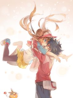 Hugh & Mei | Pokemon #anime