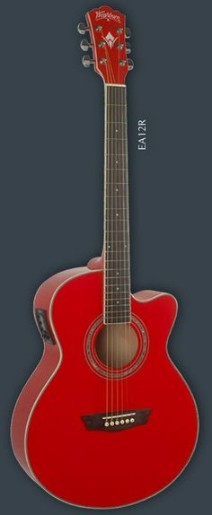 WASHBURN Washburn designed the Festival series to address the needs of the performing musician and it has succeeded for over 25 years. Washburn Guitars, Mtv Unplugged, Candy Apple Red, Cool Guitar, Acoustic, Electric, Guy, Music Instruments, Musical Instruments