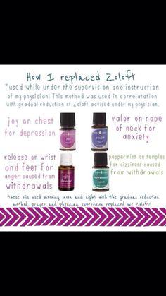 Zoloft replacement - YLEO Joy, valor, stress relief & release