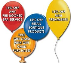 We offer 15% off in any pre booked spa services, mini treatments and retail boutique products. Visit http://beautykliniek.com/ or Call (858) 457-0191.