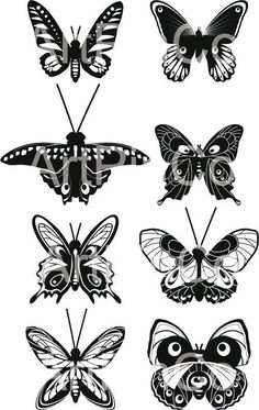 Butterfly svg clipart clip art digital download svg by ArtPinCo