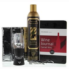 Wine Connoisseur 5 Piece Gift Set