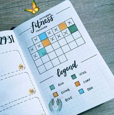 15 Ways to Track Your Mental Health in Your Bullet Journal | Angela Giles<br> Give yourself a healthy dose of SELF CARE with these Bullet Journal Mental Health Ideas and Spreads My Fitness Tracker, You Fitness, Fitness Quotes, Fitness Motivation, Bullet Journal Mental Health, Astrology Leo, Get Toned, Fitness Journal, Workout Challenge