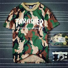 New #thrasher t-shirt men t shirt #skateboard fashion mens #trasher clothing , View more on the LINK: http://www.zeppy.io/product/gb/2/111983943057/