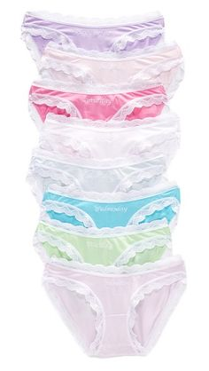Cheek Frills Days of the Week Knickers Pack