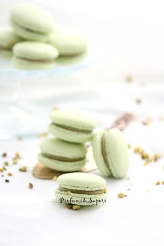 Macaron al pistacchio 02