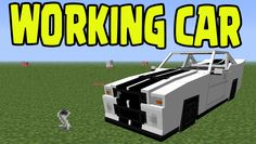 Minecraft PS3, PS4, Xbox, Wii U - WORKING CAR with SLIME BLOCKS! (Title ...