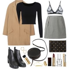 I can and I will by sophiehackett on Polyvore featuring MANGO, Anine Bing, Topshop, Sara Barner, Sophie Hulme, Nordstrom, Kevyn Aucoin, D&G and Lipsy