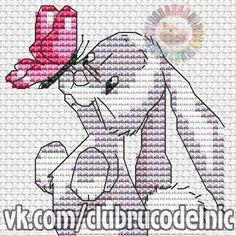 Mouseloft Mini Punto De Cruz Kit-friendly Planeta-Conejo