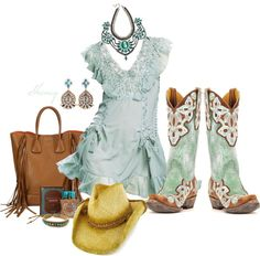 """""""Couture Cowgirl by Sheniq"""" by sheniq ❤ liked on Polyvore"""