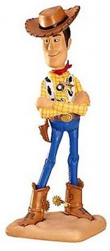 "Woody from the movie classic Toy Story, porcelain figurine is 7 1/2″ tall. ""I'm Still Andy's Favorite Toy"" WDCC"