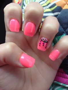 my dream catcher nails.