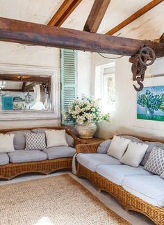Rustic meets French provincial chic in this old cottage west of Sydney. ACx