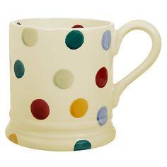 Buy Emma Bridgewater Polka Dot Mug, 0.3L Online at johnlewis.com