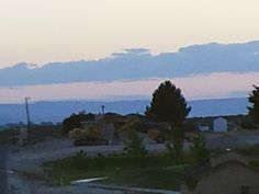 PT NAMPA IDAHO. SUNSET OVER A GOLF COURSE. JUNE 2015