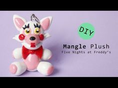 Five Nights at Freddy's FNaF Mangle Plush Version polymer Clay Tutorial