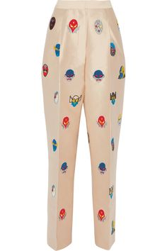 Shop on-sale Stella McCartney Superstellaheroes Loyd embroidered satin-twill wide-leg pants. Browse other discount designer Superstellaheroes Loyd embroidered satin-twill wide-leg pants & more on The Most Fashionable Fashion Outlet, THE OUTNET.COM