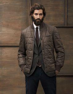 Brunello Cucinelli in shades of brown