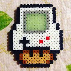 Gameboy mushroom perler beads by thehatman1021