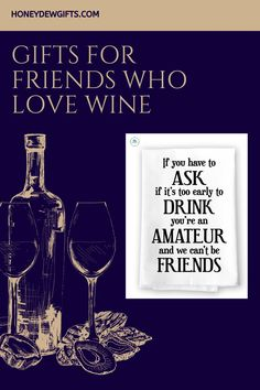 Giving your friend a hostess gift? This funny dish towel with sayings is the perfect gift for the best hostess. It makes a great partner to your wine gift. Hang it in the kitchen and it will surely be the center of everyone's attention. This funny wine bottle towel is also a perfect bar decor. Send it to your family, friends, and coworkers. They will love it. With this funny dish towel gift, you'll surely get another invite!