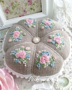 "4,732 Likes, 50 Comments - ⚪ (@handmade.embroidery) on Instagram: ""Автор @pespoksa #embroidery #embroideryart #embroiderydesign #design #flower #вышивка…"""