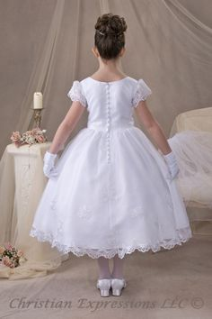 First Communion Dress. Cannot wait until Florence Belle has her First Holy Communion
