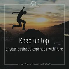 Having trouble keeping on top of all your expenses with receipts piling up? Pure's Expenses App allows employees to fill in their expenses either against a project or a business with the option of attaching a receipt photo. Keeping it simple with you in mind, click  to find out about Pure's other apps.