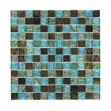 Arabia Blue Mosaic Tile