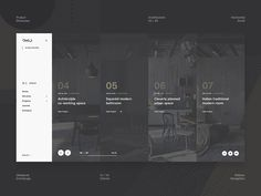 Ohio Concept - Project Showcase designed by Oleksandr Dremliuga. Connect with them on Dribbble; Best Website Design, Website Design Layout, Web Layout, Layout Design, Menu Design, Web Ui Design, Best Web Design, Flat Design, Portfolio Layout