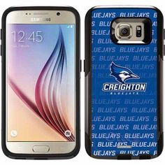 Creighton Repeating Design on OtterBox Commuter Series Case for Samsung Galaxy S6