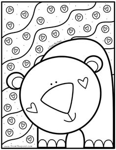 Coloring Club — From the Pond - Spring Crafts For Kids Spring Coloring Pages, Christmas Coloring Pages, Coloring Book Pages, Spring Crafts For Kids, Art For Kids, Pond Crafts, Coloring Sheets For Kids, Color Club, Free Coloring