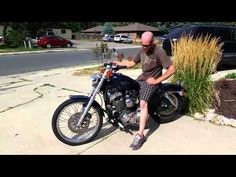 1200 Sportster LAF Pipes first start - YouTube