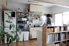 「賃貸 diy キッチン シンプル」の画像検索結果