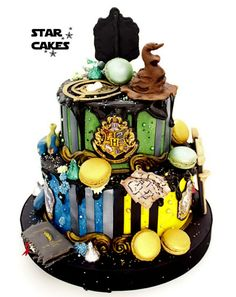 tarta Hogwarts Harry Potter