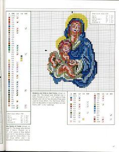 ♥Meus Gráficos De Ponto Cruz♥: Manjedoura: Menino Jesus e os Anjos