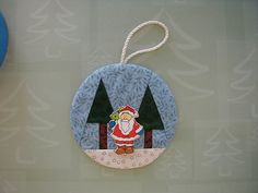 Santa Ornament (XornM)