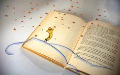 """""""Disse a flor para o pequeno príncipe: é preciso que eu suporte duas ou três lagartas se quiser conhecer as borboletas."""""""