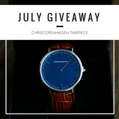 Giveaway Alert! It's your chance to win a ChrisCopenhagen watch. To enter please see rules below:  •   1) Open to Europe ONLY  2) Follow Uniwatches International Facebook Page  3) Tag 3 friends  4) Receive 4 extra entries by reposting this post to your FB wall (remember to tag us Uniwatches International)    •   Giveaway Prize: CC1015 BOTANISK HAVE (retail value: GBP175)   Giveaway Ends: 31/07/17