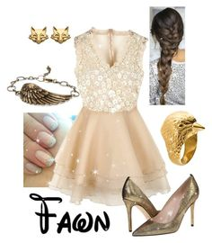 """""""Disney - Fawn"""" by briony-jae ❤ liked on Polyvore featuring 21dgrs, Chicnova Fashion, SJP, Foxy Originals, women's clothing, women, female, woman, misses and juniors"""