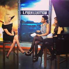 Talking #IFrankenstein, #Dexter, #Chuck & #24 with a very busy Yvonne Strahovski on #newyorklivetv! #YvonneStrahovski