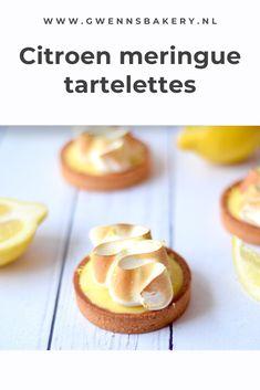 Meringue Recept, Lemon Meringue Cake, Homemade Lemon Cake, Lemon Cream Pies, Fondant, Sweet Bakery, Bread Cake, Food Decoration, Tart Recipes