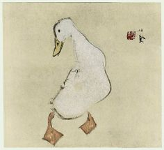 """Duck"", Takeuchi Seihō (1864 -1942)"