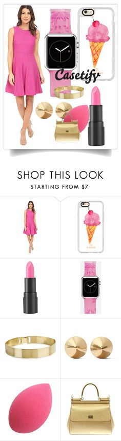 """""""Casetify 5"""" by spolyvore1 ❤ liked on Polyvore featuring Donna Morgan, Casetify, too cool for school, Eddie Borgo and Dolce&Gabbana"""