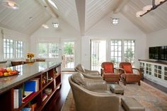 traditional living room by Gatling Design